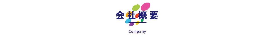 会社概要 - company